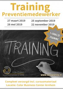 Training Preventiemedewerker